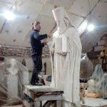 Заставка для - Скульптура св. равноап. Николая (Касаткина), просветителя Японии, в поселке Мирный