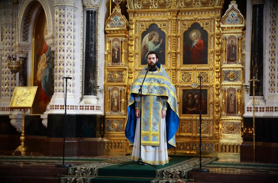 священник Николай Устинов