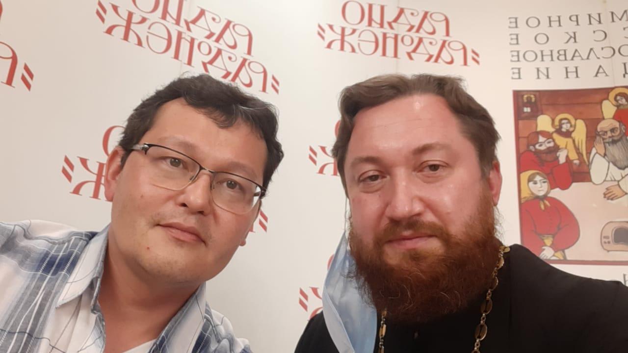 """Авдюшко Магай радио """"Радонеж"""""""